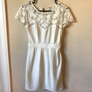 Pins & Needles Dresses - Pins & Needles White Lace Dress - Urban Outfitters